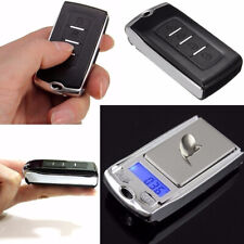 1/2PCS Portable Car Key Digital Pocket Scale 0.01g-200g Mini Jewelry Weighing