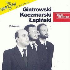 """= GINTROWSKI,KACZMARSKI,LAPINSKI - ZLOTA KOLEKCJA """"pokolenie"""" // CD"""