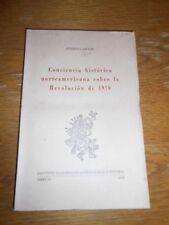 CONCIENCIA HISTORICA NORTEAMERICANA SOBRE LA REVOLUCION DE 1910. Eugenia Meyer