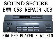 bmw business c53 e39 5 ser radio cassette player repair