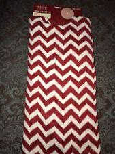 """Red & White Chevron Tree Skirt New  56"""""""