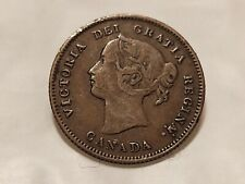 Canadian 1870 5 Cent Silver