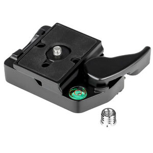 RC2 system quick change adapter, suitable for Manfrotto tripod 200PL-14 Compat
