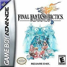 Final Fantasy Nintendo Game Boy Advance Video Games
