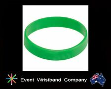 30 x Green Silicone Wristbands, Party, Event, Hens Night, Party Bag, Novelty