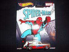 Hot Wheels Chevy Nova Delivery 64 Spider Man 1/64 CFP34-956D