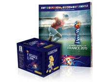 PANINI WOMEN'S WORLD CUP FRANCE 2019 Box (50 sticker packs) + 1 Album US PRODUCT