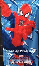 Toalla de playa Spiderman original Marvel 70x140cm microfibra