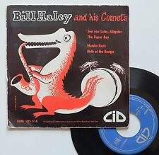 "EP Bill Haley and his Comets  ""See you later, Alligator"""