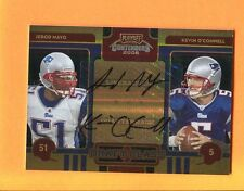 2008 Playoff Contenders Draft Class Jerod Mayo/Kevin O'Connell Autograph /10