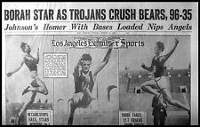 L.A. Examiner Sports Section 1929-03-31 - Charley Borah, Knute Rockne, Ty Cobb