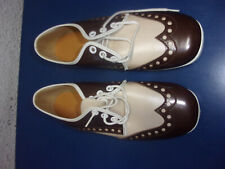 Bowling Shoes Made in the USA Size 8 Girl's Youth Brown + Beige 2 Tone