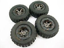 Losi 1.9 Mini Rock Claws Crawler Tires Wheels MRC Scale 1/18 Damaged