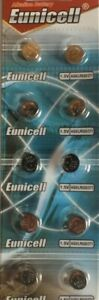 EUNICELL AG6/LR921 x 10 TOP QUALITY BATTERIES UK SAME DAY POST