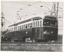 Streetcar in TORONTO ON, Long Beach Trolley bus Reproduction Trolly Photograph