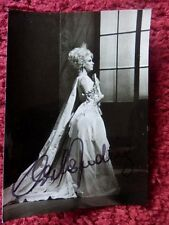 CHRISTA LUDWIG OPERA SINGER AUTOGRAPHED PHOTO