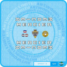 Mercier - Bicycle Decals Transfers - Stickers - Set 1