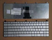 New For ASUS N45 N45SF N45SL N45VM Keyboard Russian Silver