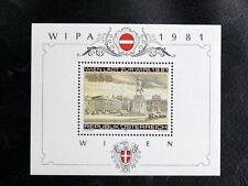 TIMBRES D'AUTRICHE : 1981 YVERT BLOC FEUILLET N° 10** NEUF - WIPA 81 - TBE