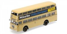 Autobus Buessing D2U 1958 Doppeldecker Miele Mit Geschlossenem Heckeinstieg 1:43