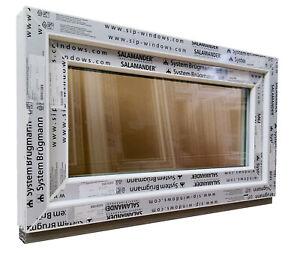 Kunststofffenster Fenster Salamander, 90x50 cm bxh, weiß