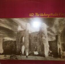 VINILE LP U2 - THE UNFORGETTABLE FIRE 33 GIRI ANNO 1984 GREECE VG71408 POP ROCK