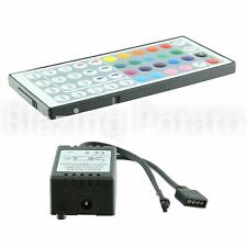 RGB LED Controller with 44 Key IR Remote for RGB SMD 5050 3528 LED Strip ☆USA☆