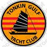 STICKER US UNIT Vietnam   Tonkin Gulf Yacht Club