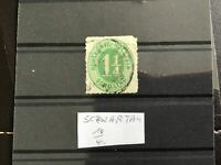 Schleswig-Holstein 1865  used Rouletted  stamp R30486