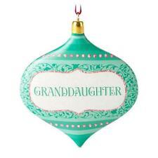 Hallmark 2016 Granddaughter Gift Ornament
