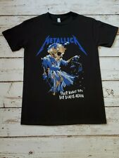 NEW - METALLICA - THEIR MONEY TIPS HER SCALES - BAND - T-SHIRT