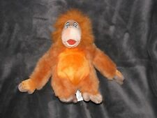 Walt Disney World Stuffed Plush The Jungle Book King Louie Beanbag Bean Bag NEW