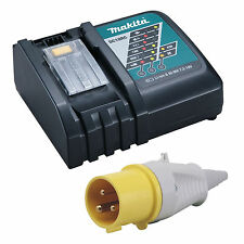 MAKITA 18V LXT 110V SITE YELLOW PLUGGED CHARGER