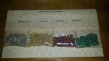 Black Mayan Copal, Frankinsense, Money Drawing & Saint Michael Incense Sample Pk