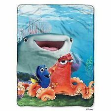 Disney's Finding Dory Fishy Group Micro Raschel Throw, 46x60 inches