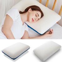 Contour Memory Foam Pillow Orthopaedic Pillow Cervical Washable Cover 60x32cm