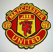 MAN U EMBROIDERED IRON ON PATCH A176