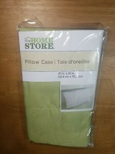 The Home Store pillow Case.  Standard size New.  B