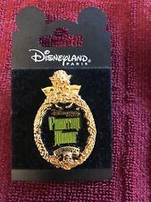 Disneyland Paris Phantom Manor Oval Frame pin