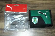 Puma Mens Wallet Sporting Portugal Velcro Green Black NEW