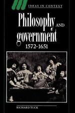 Philosophy and Government, 1572-1651 (Ideas in Context)-ExLibrary