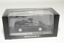 . MINICHAMPS LAMBORGHINI COUNTACH LP400 BLACK MINT BOXED