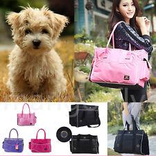 Portable Pet Small Dog Cat Carrier Travel Tote Shoulder Folding Bag Cage Kennel