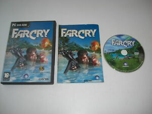 FAR CRY 1 Pc DVD Rom Original Release FARCRY with Manual FPS - Fast Dispatch