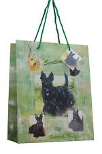 Scottish Terrier Scottie Dog Quality Large Gift Bag & Gift Tag Present Occasion