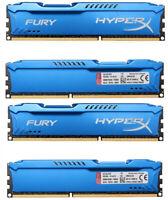32GB 16GB 8GB 4GB DDR3 1600 1333 1866MHz DIMM RAM For HyperX FURY Memory Lot &&&