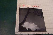 MIT-Technology Review: MAY 1938 Mt McKinley; Everest; sunlight; mech driver test