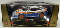 Burago 1/18 Scale Diecast 3355 Porsche 911 GT3 Cup #12 Model Car