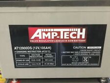105 AH 12V AGM DEEP CYCLE BATTERY FREE DELIVERY