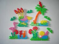 KINDER SURPRISE SET - 3D PUZZLE RESORT ISLAND EUROPE 1994 - TOYS COLLECTIBLES